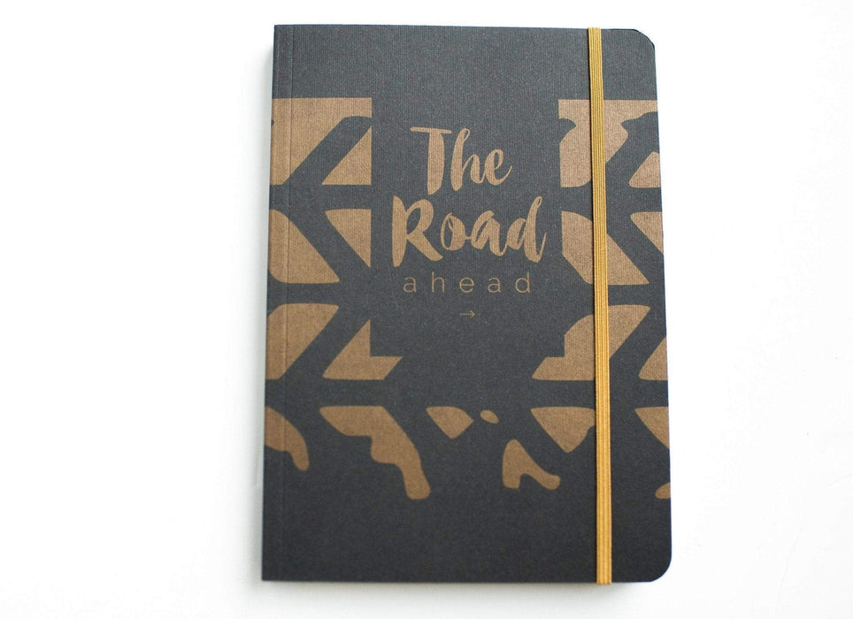 A5 Notebook Love 'The Road Ahead' Notebook with Elastic Notebook Love 5NBL008 Notebook Love
