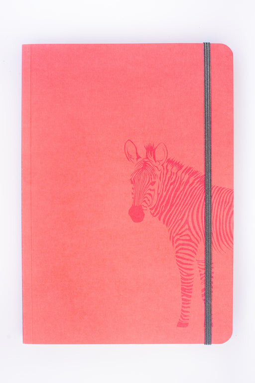 A5 Notebook Love Zebra Bottom Notebook with Elastic Notebook Love 5NBL005 Notebook Love