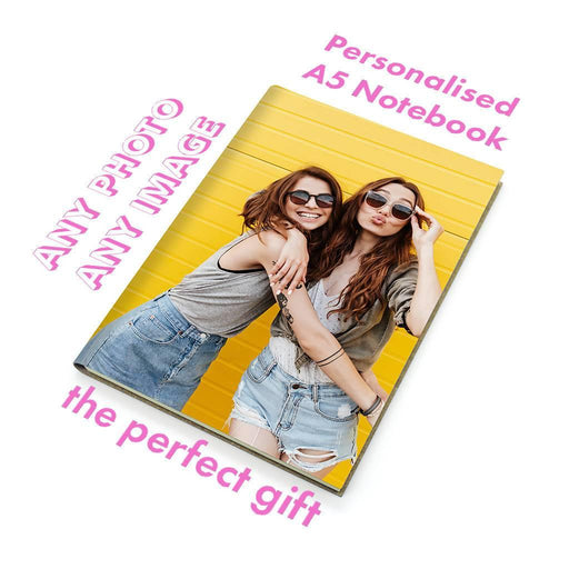 A5 Personalised Recycled Leather Notebook - Your Photo, Your Image, Your Design Forever Printworks Notebook Love