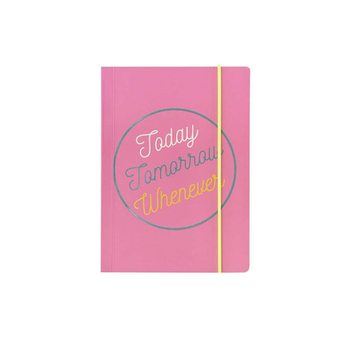 A6 Classic Full Year Diary - Today Tomorrow Whenever Go Stationery CDA6DITT20 Notebook Love