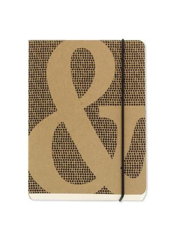 Ampersand A6 Chunky Notebook with Elastic Notebook Love 6PNC426 Notebook Love