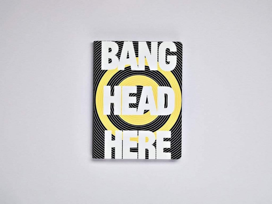 Bang Head Here A5 Chunky Leather Nuuna Dot Grid Notebook Notebook Love N-54464 Notebook Love