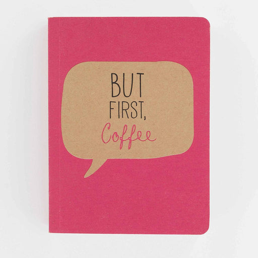 But First Coffee A6 Chunky Notebook Notebook Love 6PN426 Notebook Love