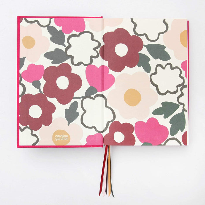 Daydream Multi-Ribbon A5 Journal by Caroline Gardner Notebook Love MUL106 Notebook Love