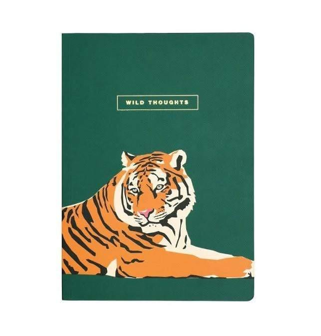 Emily Brooks B5 Wild Thoughts Tiger Notebook Notebook Love EB2034 Notebook Love