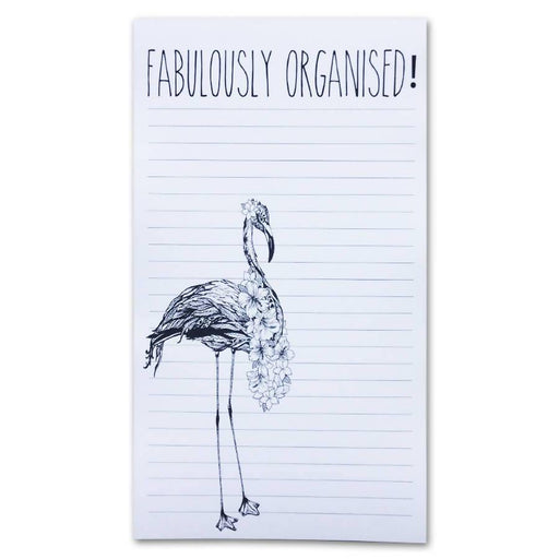 Fabulously Organised - List Pad Ink Inc Notebook Love