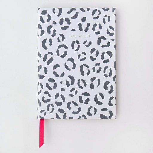 Go Wild Large Leopard Hardback Notebook by Caroline Gardner Notebook Love CDB103 Notebook Love