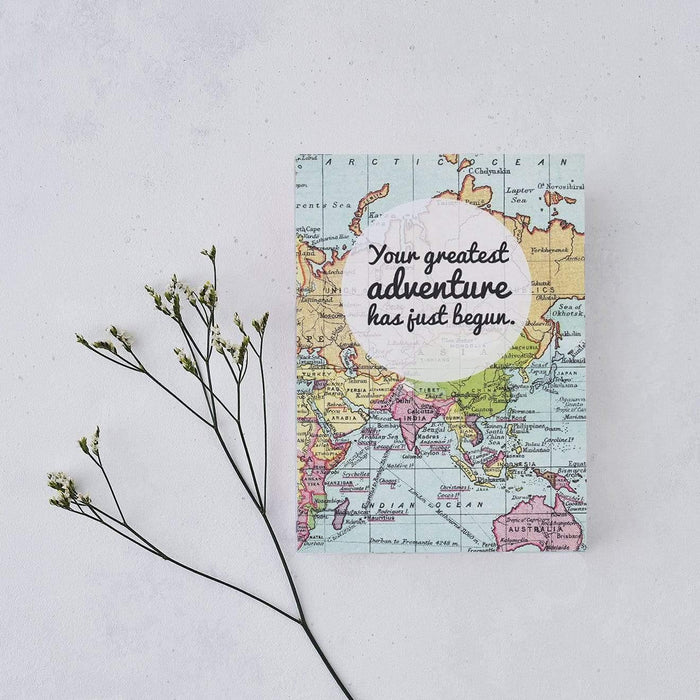 Greatest Adventure A5 Wedding Planner and Honeymoon Notebook Bookishly BOOKWPH01 Notebook Love