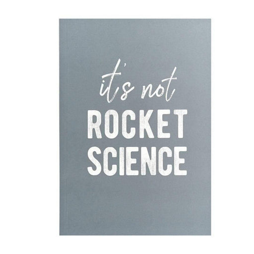 It's Not Rocket Science A5 Notebook Go Stationery SLA5NBRC20 Notebook Love