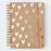 Kraft Gold Hearts Ultimate Organiser and Planner with Elastic Notebook Love ULO102 Notebook Love