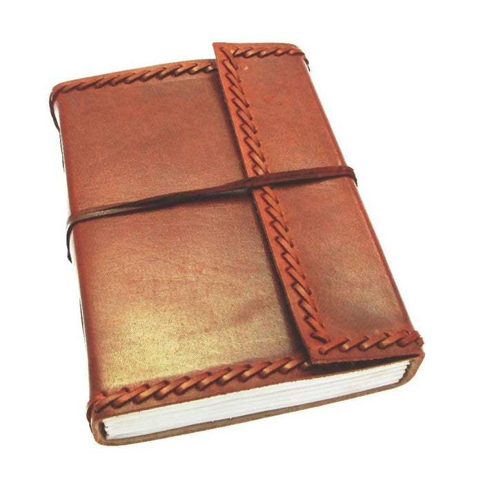 Large Stitched Leather Journal Notebook Love Notebook Love