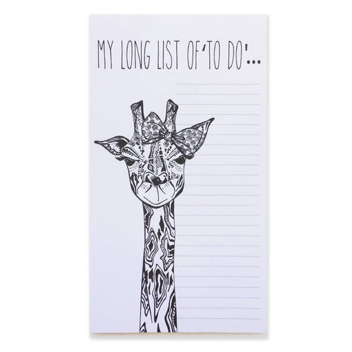Long List of 'To-Do' - List Pad Ink Inc Notebook Love