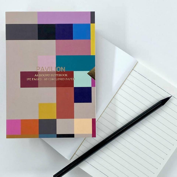 Madras - A6 Embossed Foiled Notebook Pavilion Notebook Love