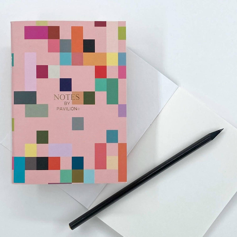 Madras - A6 'Notes' Jotter Pavilion Notebook Love