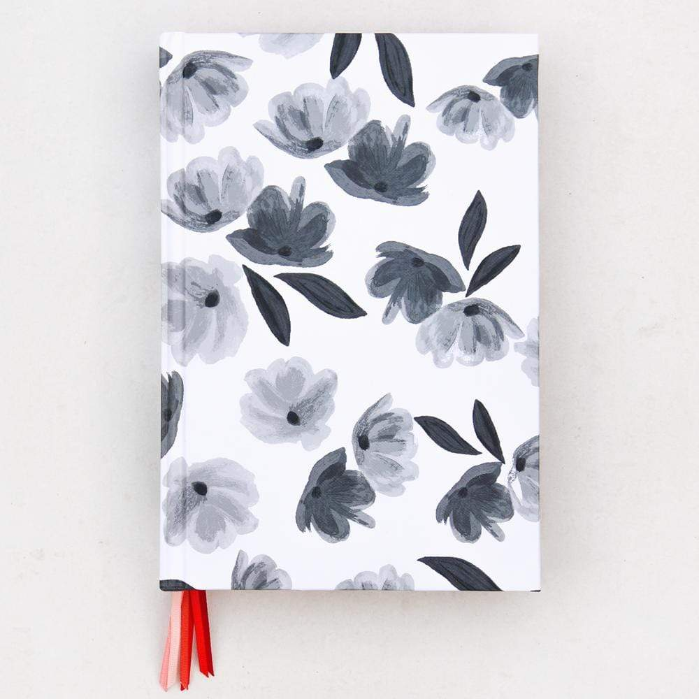 Mono Rose Multi Ribbon A5 Journal Notebook Notebook Love MUL101 Notebook Love