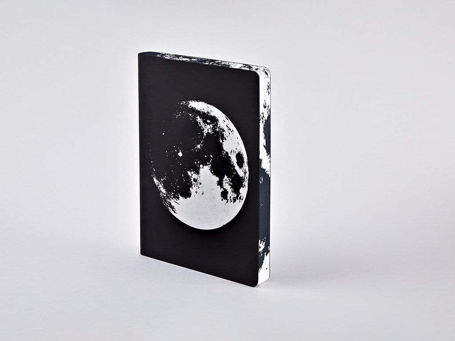 Moon A5 Chunky Leather Nuuna Dot Grid Notebook Notebook Love N-55003 Notebook Love