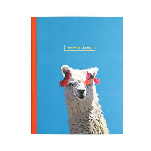 No Prob Llama One Year Undated Planner Emily Brooks Notebook Love EB2011 Notebook Love