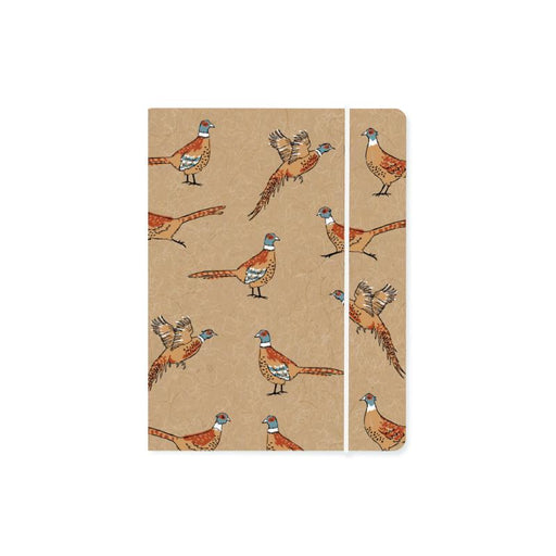 Pleasant Pheasant Chunky A6 Notebook with Elastic Notebook Love 6PN512B Notebook Love