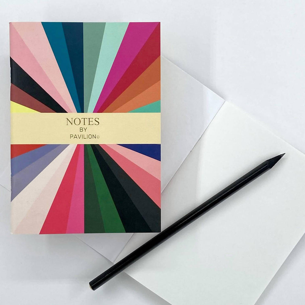 Radar - A6 'Notes' Jotter Pavilion Notebook Love