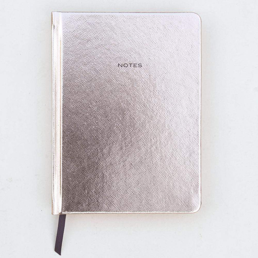 Rose Gold Hardback Notebook Notebook Love HRD100 Notebook Love