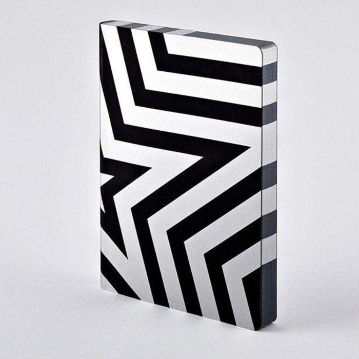 Silver Super Star Chunky A5 Nuuna Leather Dot Grid Notebook Notebook Love N-52125 Notebook Love