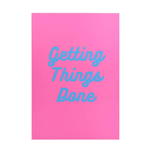 Slogan A5 Notebook - Getting Things Done Go Stationery SPA5NBGT19 Notebook Love