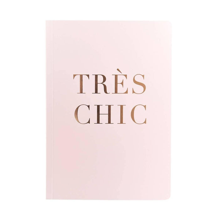 Slogan A5 Notebook - Tres Chic Go Stationery SPA5NBTC19 Notebook Love