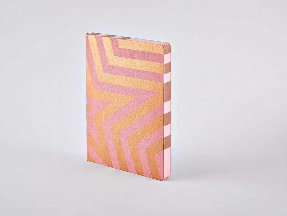 Super Star Rose Gold Chunky A5 Nuuna Dot Grid Notebook Notebook Love N-52637 Notebook Love