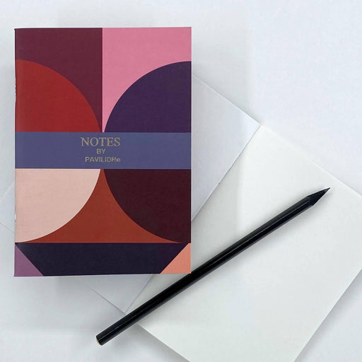 Testcard - A6 'Notes' Jotter Pavilion Notebook Love