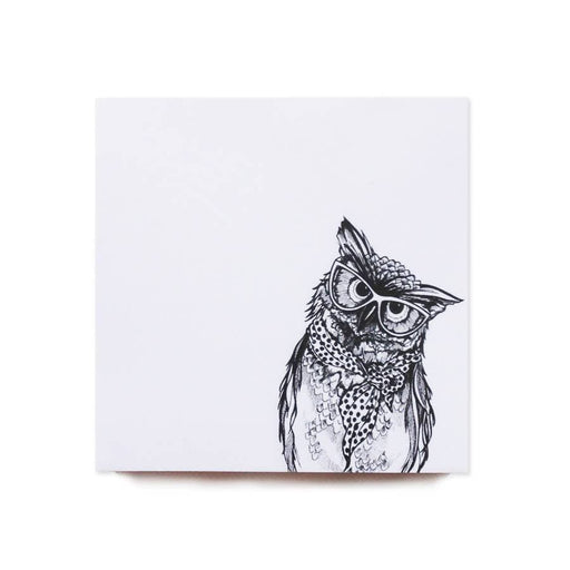 Wise Owl - Memo Block Ink Inc MEM001 Notebook Love