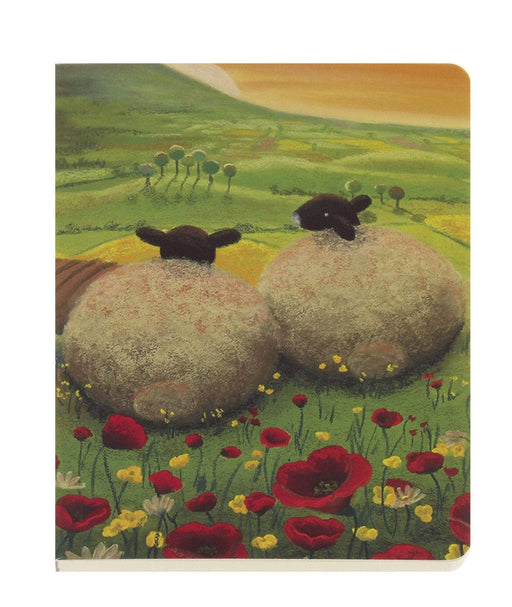 Yorkshire Sheep in Love A6 Notebook Notebook Love 6PN436 Notebook Love