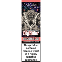 Only Vapes stocks 100's of premium quality eliquids, including The Dogfather range of vape e-liquids which are available on next day delivery.