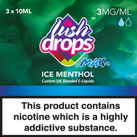 Ice Menthol by Lush Drops E-Liquids