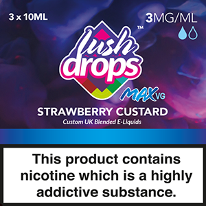 Only Vapes stocks 100's of premium quality eliquids, including the full Lush Drops range of vape e-liquids which are available on next day delivery.