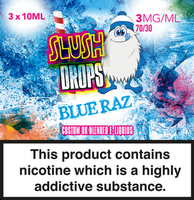 Blue Raz E-Liquid by Slush Drops