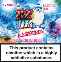 Raspberry Slush E-Liquid by Slush Drops