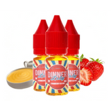 Strawberry Custard eLiquid by Dinner Lady TPD Compliant 30ml (3x 10ml)
