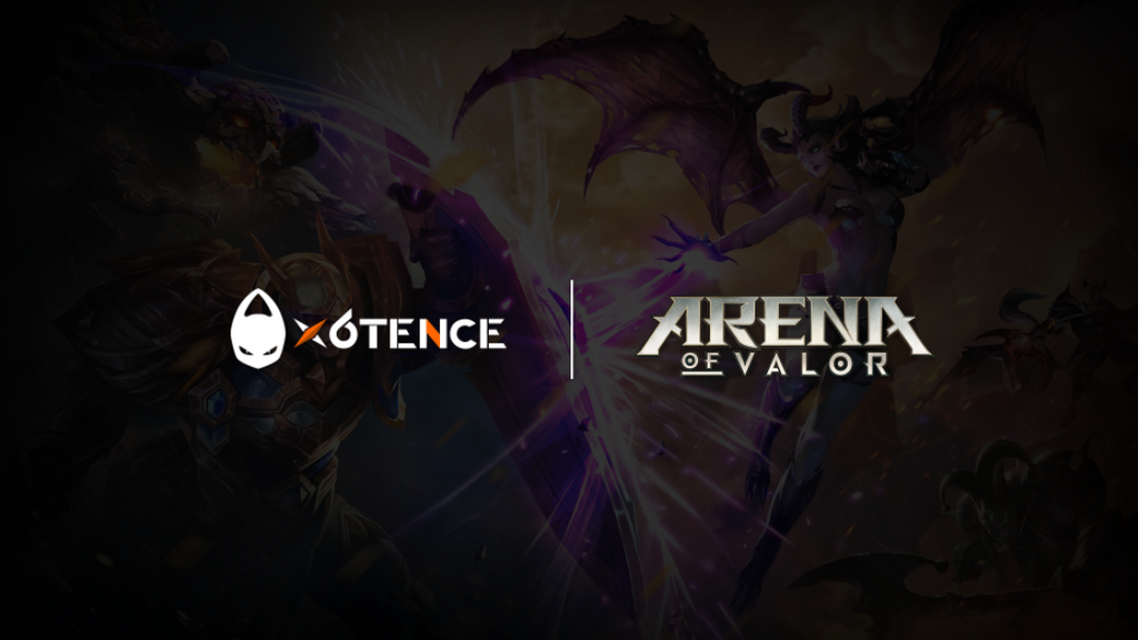 x6tence llega a Arena of Valor