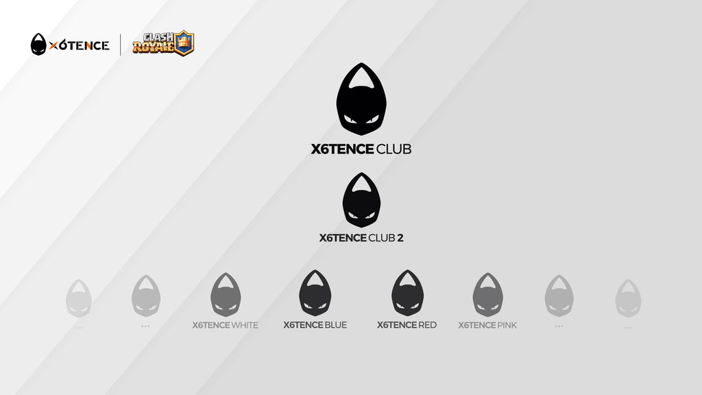 Organigrama x6tence Ladder Clash Royale