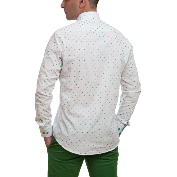 Men White Dress Shirt
