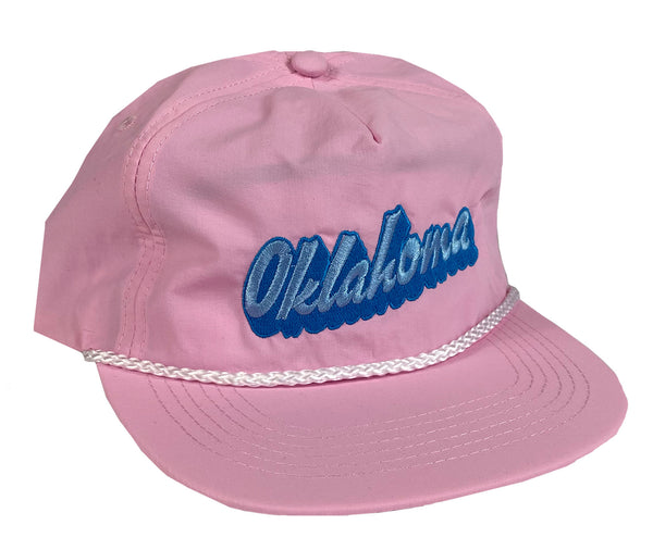 Oklahoma Shadow Rope Snapback