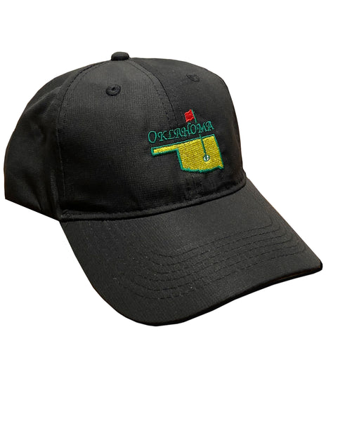 Oklahoma Masters Black Performance Hat