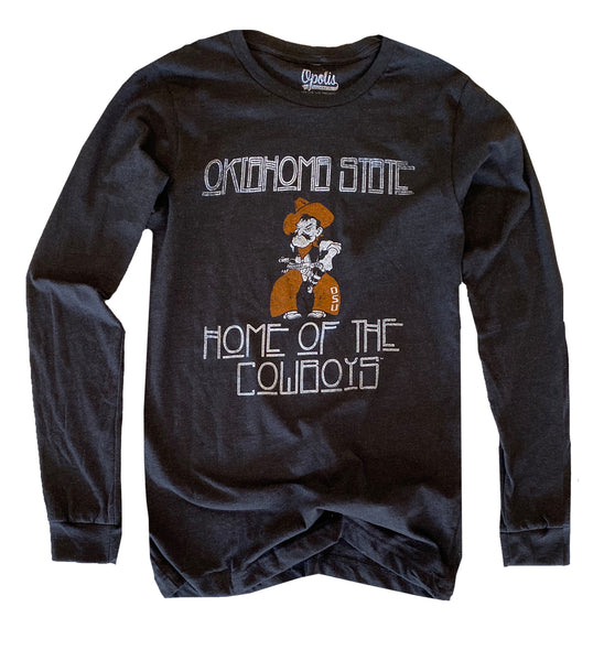 OSU Home of Cowboys Tri Long Sleeve