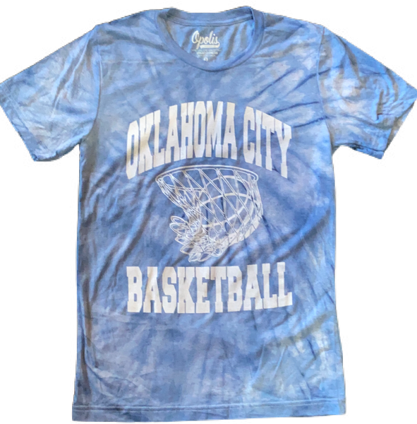 Oklahoma City Basketball Cloud Dye