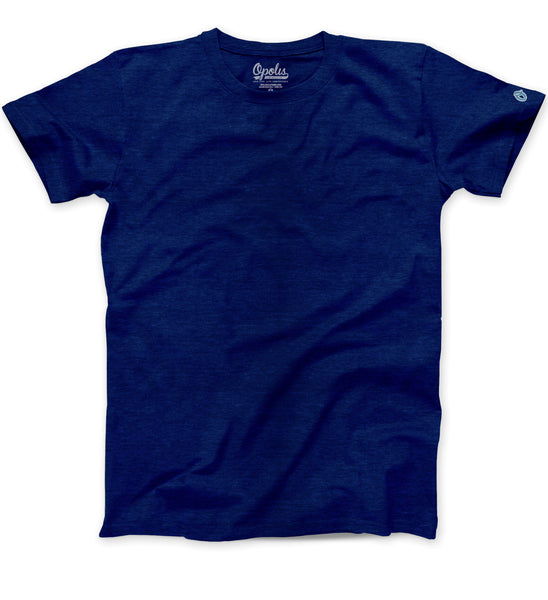 Navy Triblend Classic Crew