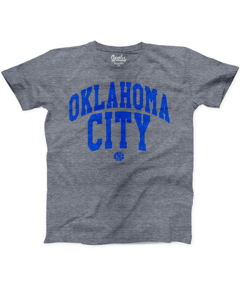 OKC Varsity Stretched Kids Triblend Crew
