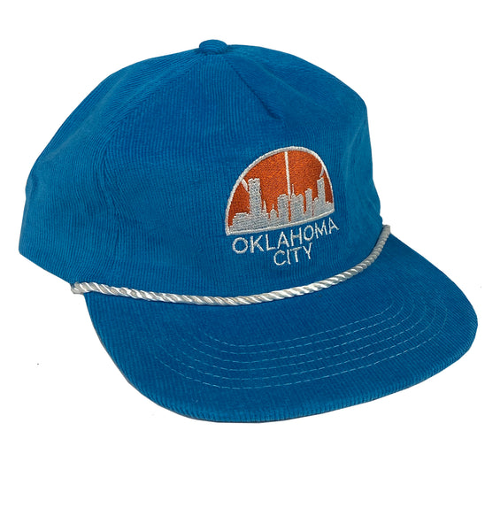 OKC Seattle Corduroy Rope Hat