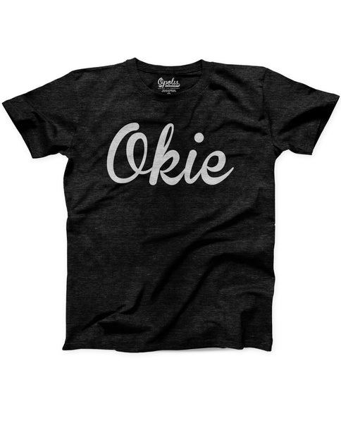 Okie Kids Black Eco Crew Tee