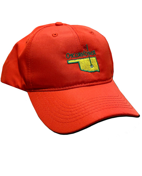 Oklahoma Masters Red Performance Hat