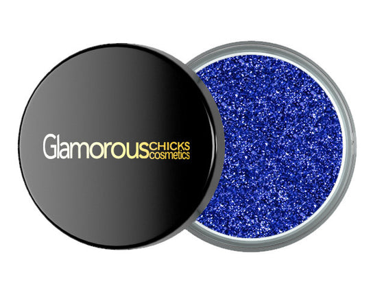 Diamond Glitter Caribbean Blue - Glamorous Chicks Cosmetics